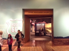 The Route 66 exhibit at the Autry Museum of the American West traced romance of the road throughout our history.